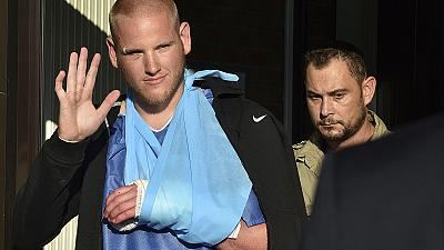 Video emerges of France train hero Spencer Stone stabbing