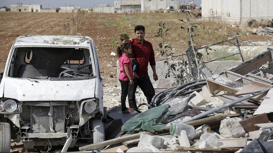 El ejército sirio lanza una vasta ofensiva terrestre apoyado por la aviación y la marina rusas