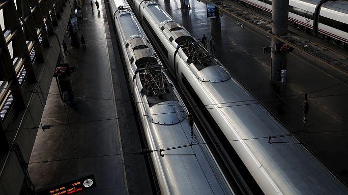 Kábellopás miatt állt a vasút Spanyolországban