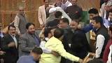 "Kashmir: A ""beef party"" attack on Parliament!"