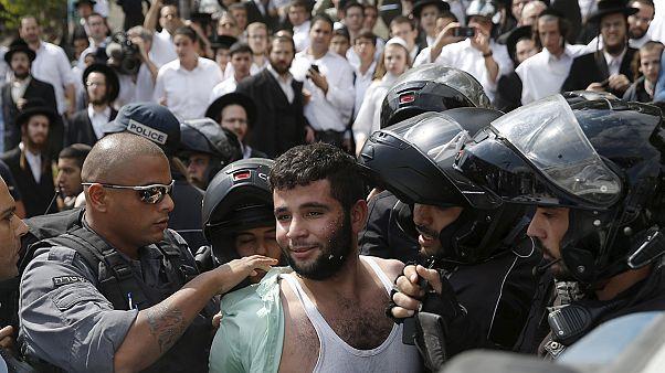 زخمی شدن دو فلسطینی و دو عرب اسرائیلی بر اثر حمله جوان اسرائیلی