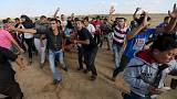 Palestinians shot dead in Gaza as Middle East violence escalates