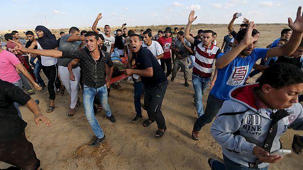 Zavargások a Gázai övezetben