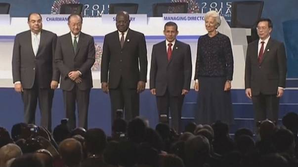 IMF and World Bank annual meeting underway in Lima