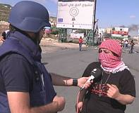 Israelis and Palestinians clash in West Bank on 'anger day'