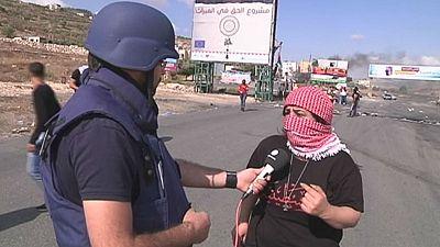 Enfrentamientos entre palestinos y soldados israelíes se intensifican en Cisjordania