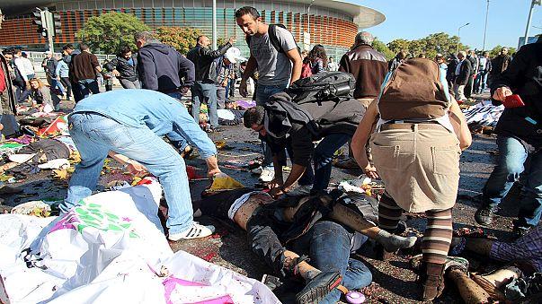 Mindestens 20 Tote bei Explosionen in Ankara