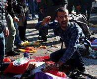 Ankara: More than 80 killed in twin blasts Turkey blames on terrorism