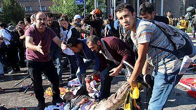 Twin blasts kill dozens in Ankara – nocomment