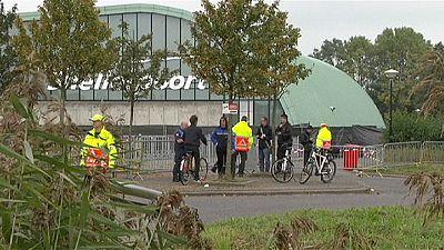 Dutch police arrest 11 following refugee-shelter attack