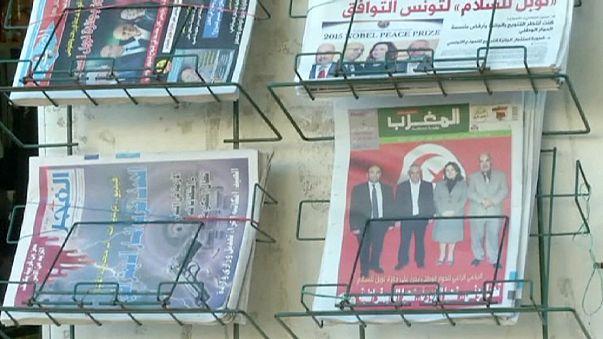 Лауреат Нобелевской премии мира - весь тунисский народ