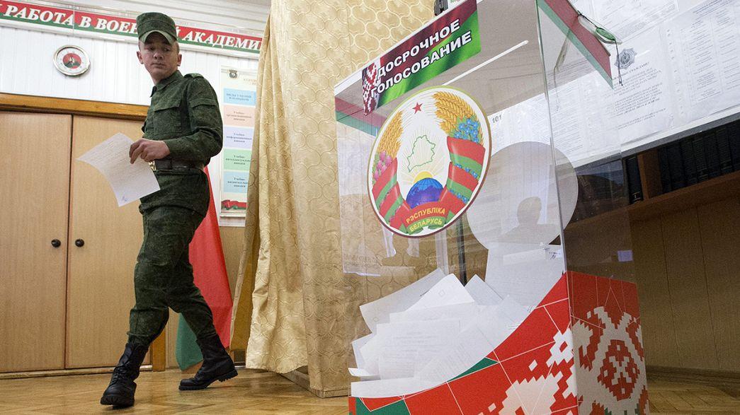 Weißrusslands Langzeitpräsident Alexander Lukaschenko vor Wiederwahl