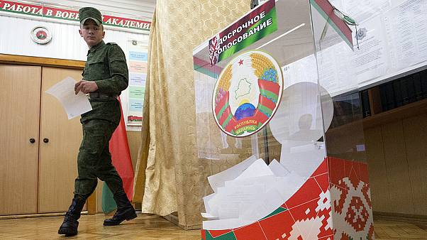 Belarus prepares for a presidential vote the result of which few doubt
