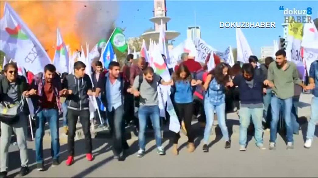 El balance de muertos en el atentado de Ankara asciende a 95