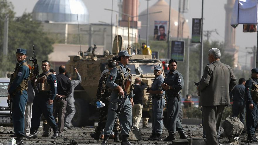 Taliban suicide car bomb attack targets NATO troops in Kabul