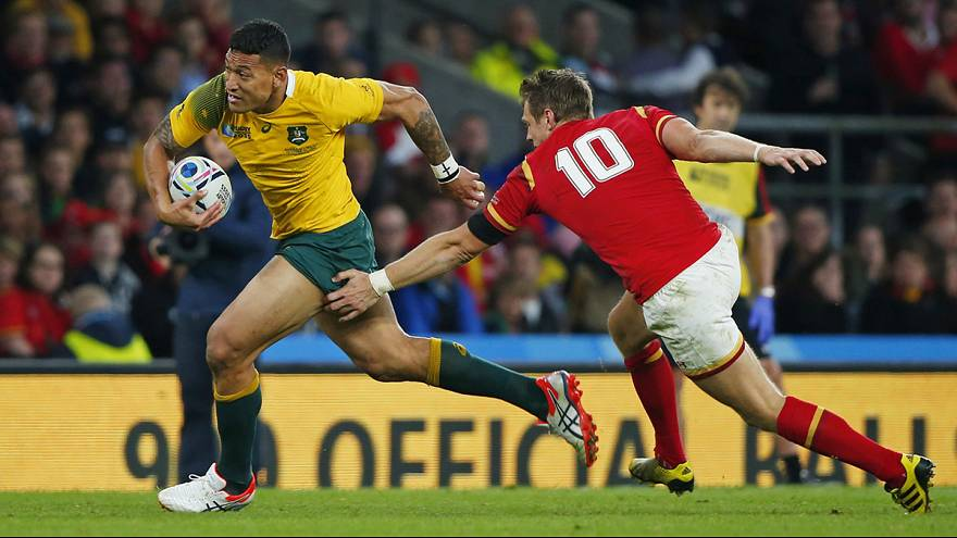 Rugby World Cup: Australia prevail to take 15-6 win over Wales