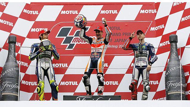 Speed : Zarco déjà titré, Rossi et Hamilton s'en rapprochent