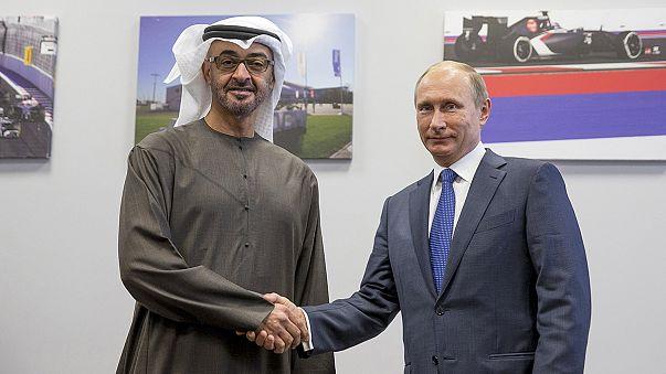 Putin Suudi Arabistan Savunma Bakanı'yla görüştü