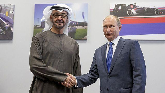 Саудовский принц приехал к Путину поговорить о Сирии