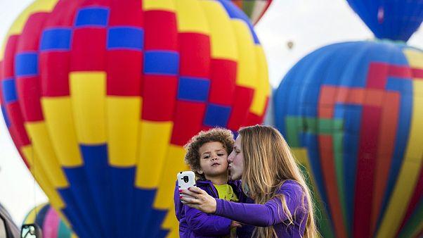 США: Международный фестиваль воздушных шаров