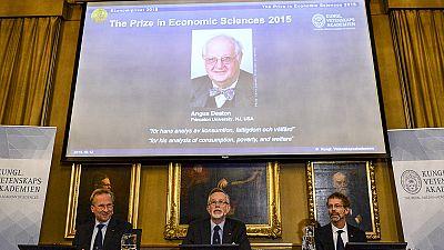 British-American economist Angus Deaton wins Nobel Economics Prize