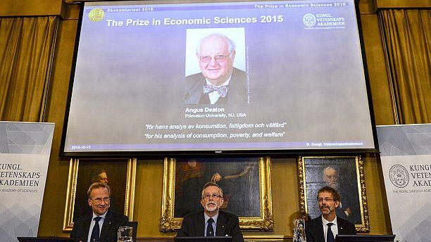 آنغوس ديتون يمنح جائزة نوبل للاقتصاد