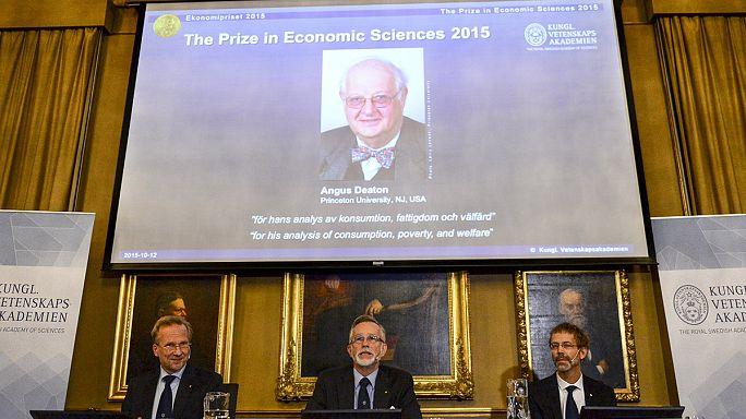 Angus Deaton brit tudós kapta a közgazdasági Nobel-díjat