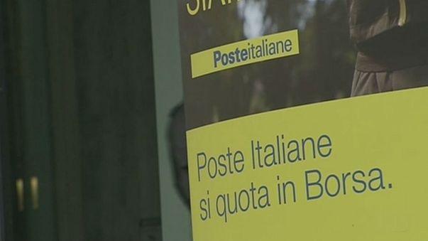 Italia inicia la privatización parcial de su servicio de correos para reducir su deuda