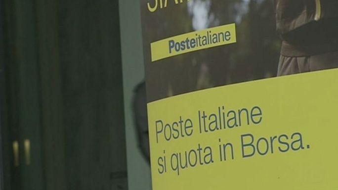 خصخصة مؤسسة البريد الايطالية لتخفيف الدين الحكومي