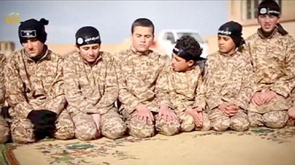 Etat islamique : des enfants entraînés pour tuer à Racca