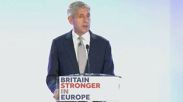 Campanha a favor da permanência do Reino Unido na União Europeia em marcha