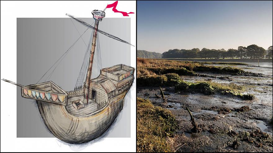 Six-hundred-year-old Henry V warship 'found in English river'