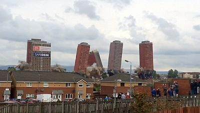 Glasgow tower blocks fail to fall