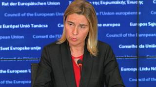 EU calls on Russia to end bombing campaign in Syria