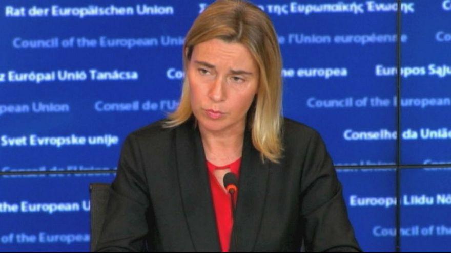 L'UE demande l'arrêt des frappes russes en Syrie