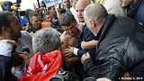 Six arrested after Air France demo over job losses