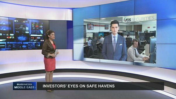 Investors turn to precious metals as safe havens