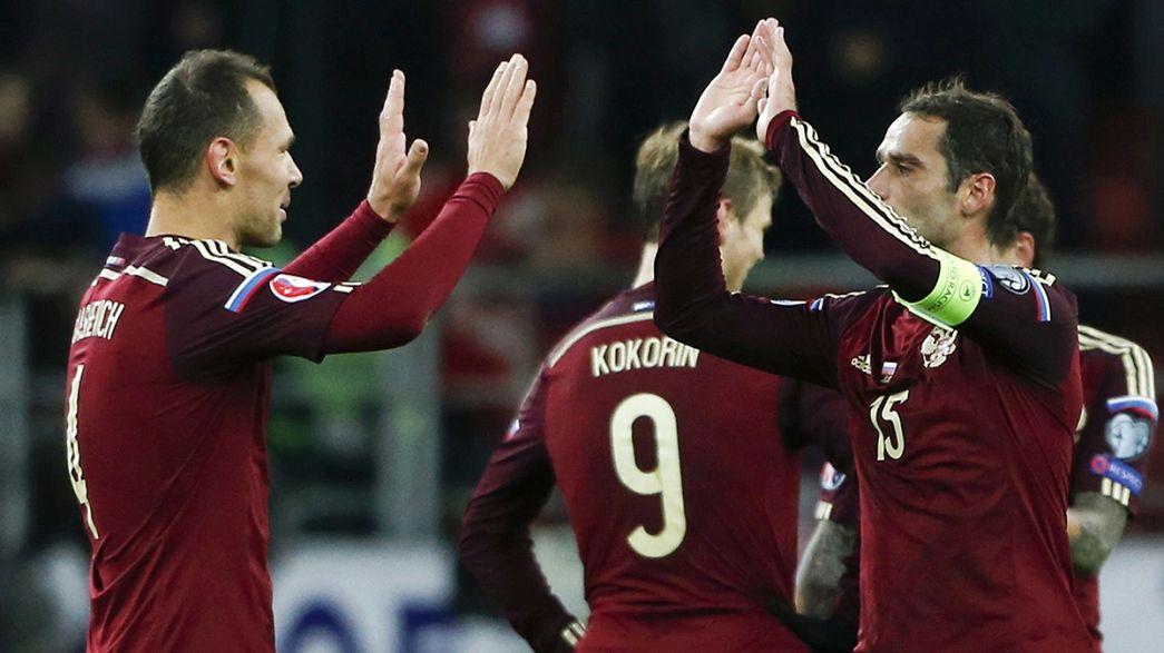 La Slovaquie et la Russie joueront l'Euro-2016