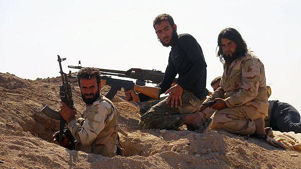 Lőszerek a szíriai lázadóknak az amerikai hadseregtől