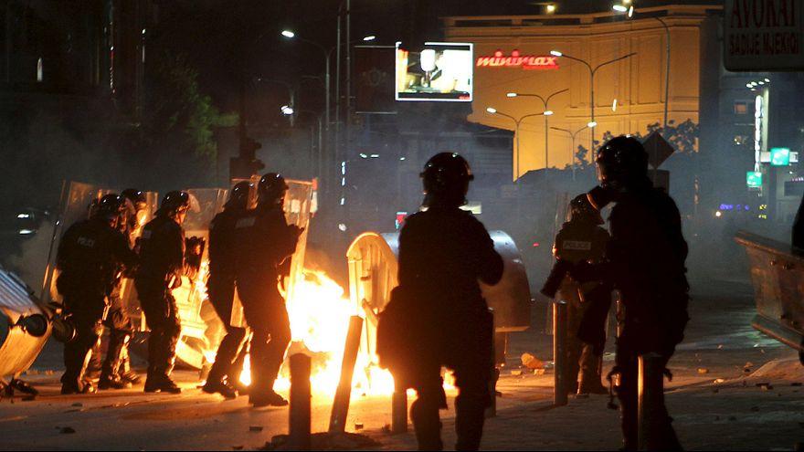 Affrontements à Pristina entre ultranationalistes et police
