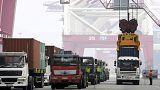 انخفاض واردات الصين بنسبة ثمانية عشر في المائة