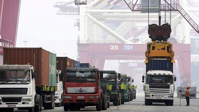 Chine : les importations ont chuté de près de 18 % sur un an