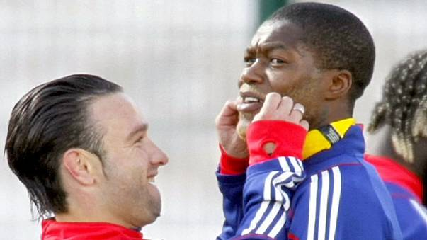 Cisse ve Valbuena 'şantaj' soruşturmasında karşı karşıya