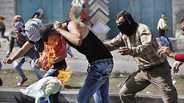 """Палестинцы провели """"День гнева"""""""