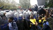 Turkey clashes as mourners prevented from reaching rally