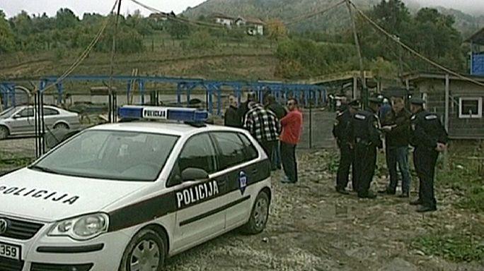 Bosna Hersek'te maden ocağında göçük 4 can aldı