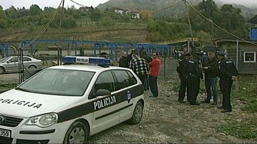 Bányaszerencsétlenség Boszniában