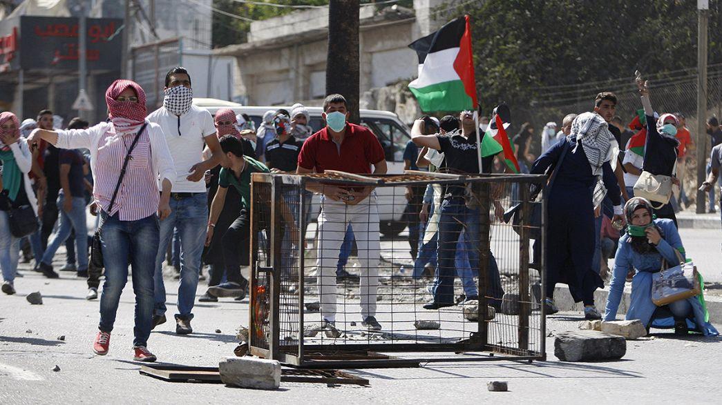 "Israel ""utilizará todos os meios para conter a violência"" num dia de cólera palestiniana"