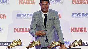 Ronaldo wins record fourth Golden Boot