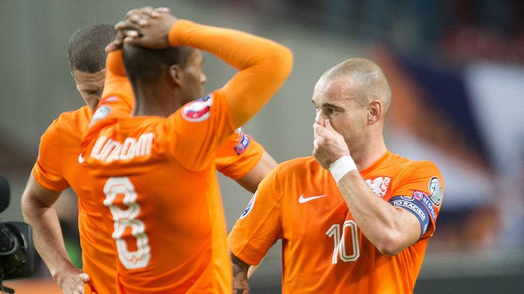 The Netherlands fail to reach Euro 2016